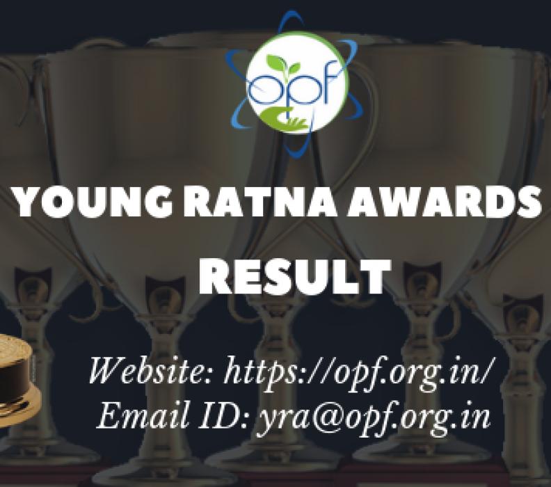 OPF – Young Ratna Awards 2018-19 Result